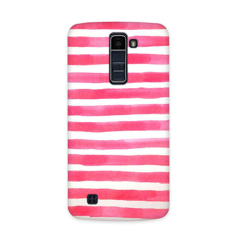 Watery Pink Case for  LG Q10