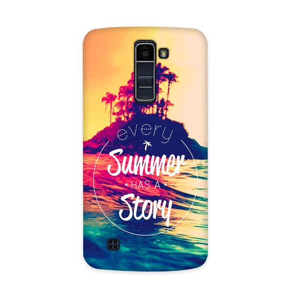 Summer Story Case for  LG Q10