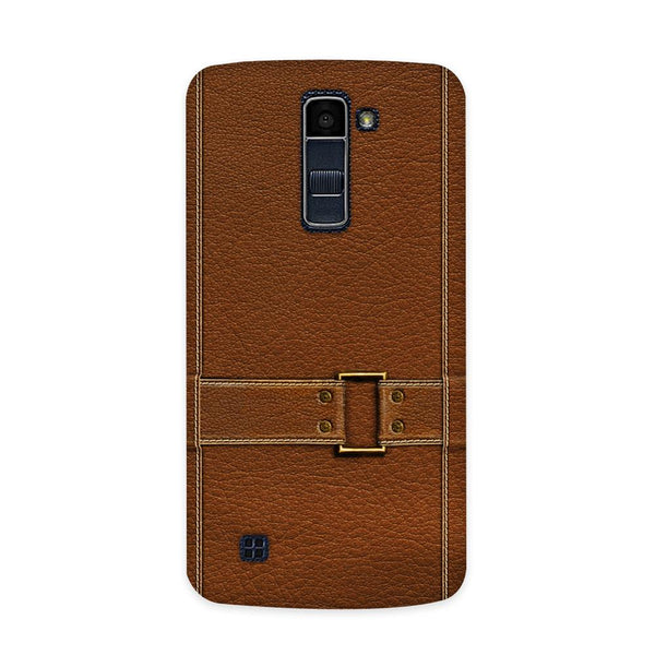 Leather Bind Textured  Case for  LG Q7