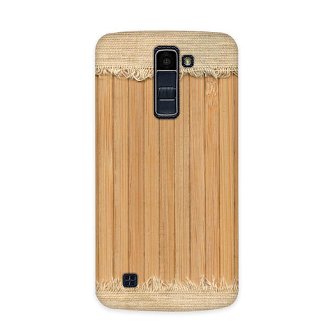 Woodcraft Textured Case for  LG Q7