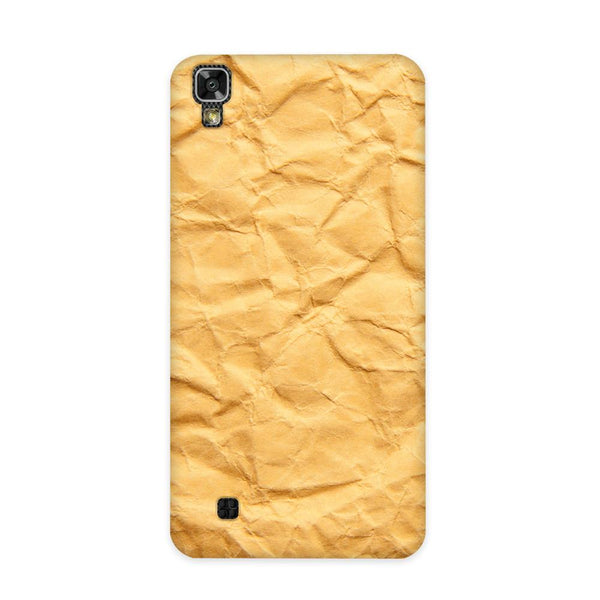 Crumpled Paper Case for LG X Power