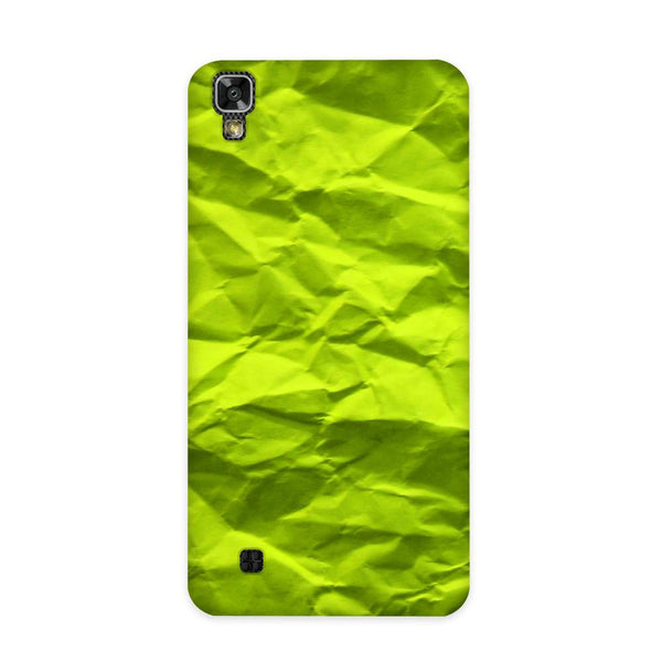 Crumpled Green Case for LG X Power