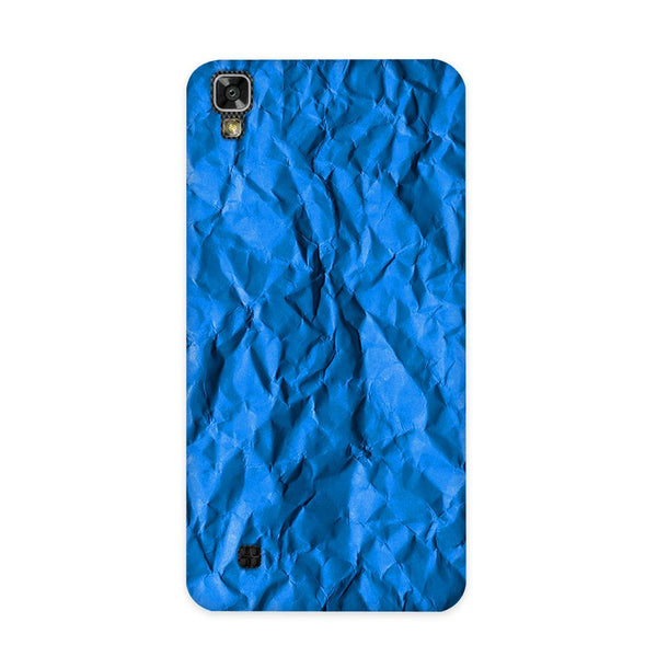 Crumpled Blue Case for LG X Power