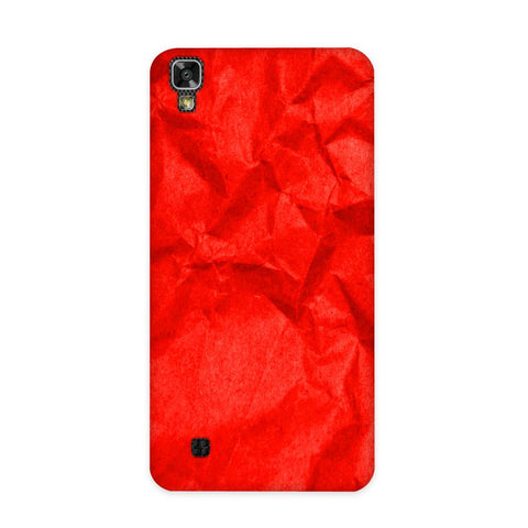 Crumpled Red Case for LG X Power