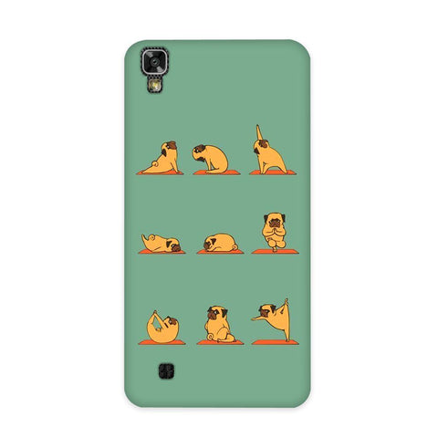 Cute Pug Case for LG X Power