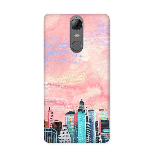 Paint Skyscraper Case for Lenovo K6 Note