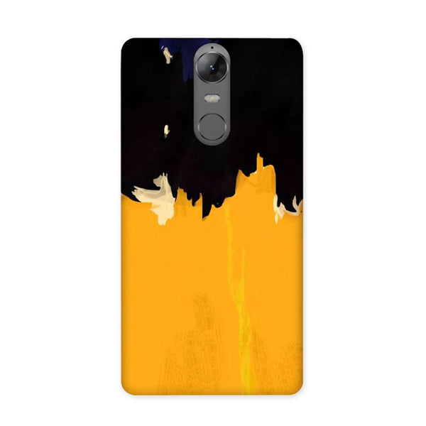 Yellow On Black Case for Lenovo K6 Note