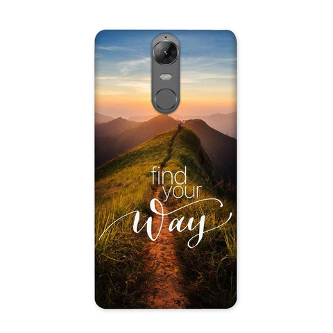 Find Your Way Case for Lenovo K6 Note