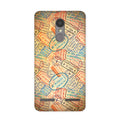 Travel Stamps 2 Case for Lenovo K6 Power