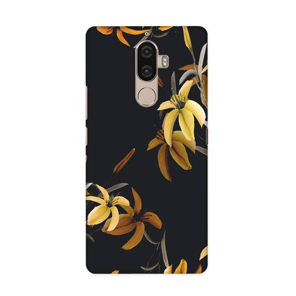 Yellow Flowers Case for Lenovo K8 Note