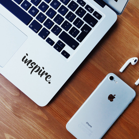 Inspire Laptop Decal