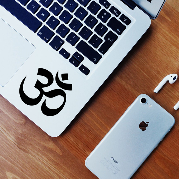 Om Laptop Decal