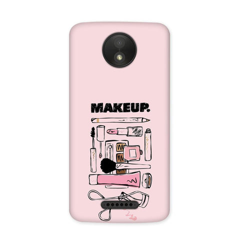 Make Me Up Case for Moto C Plus