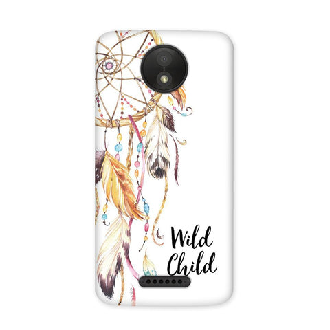 Wild Child Case for Moto C Plus
