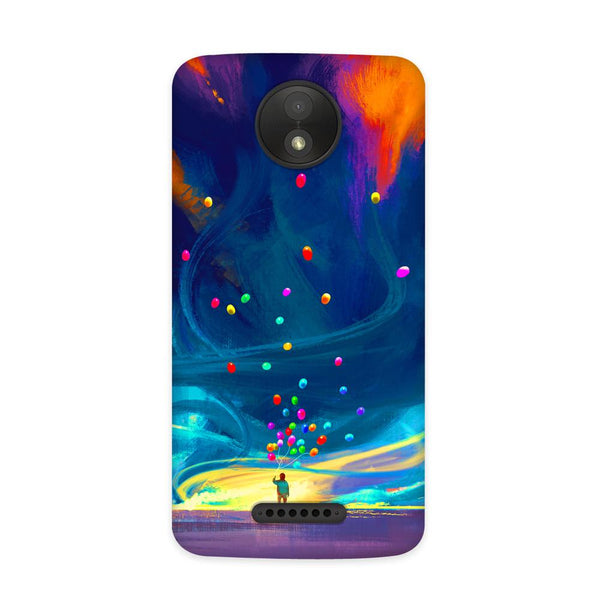 Fly to Case for Moto C Plus