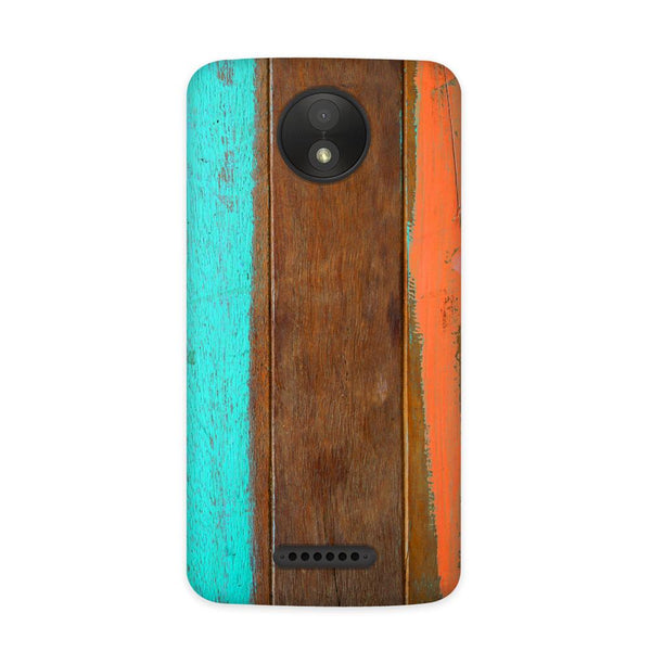Planks Case for Moto C Plus