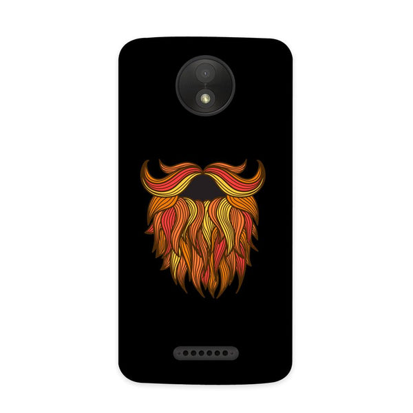 Beard Love Case for Moto C Plus