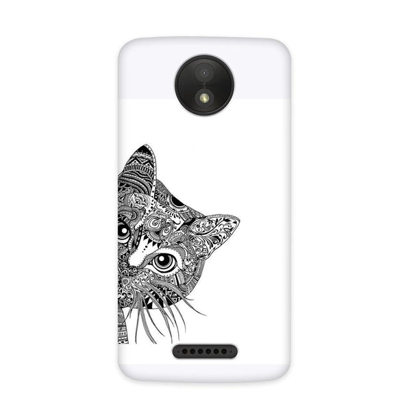 The Meow Case for Moto C Plus