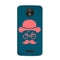 Hipster Blue Case for Moto C Plus