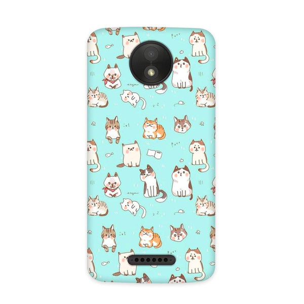 My Kitty Case for Moto C Plus