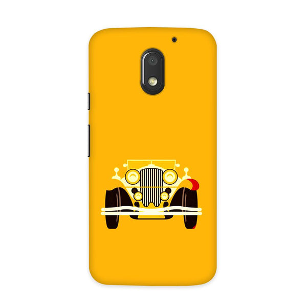 Vintage Car Case for Moto E3 Power