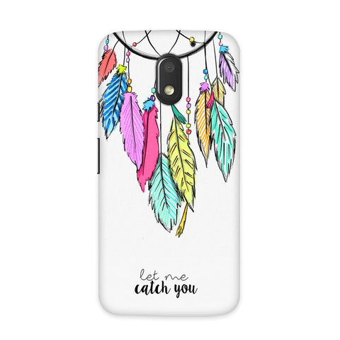 Catch Your Dreams Case for Moto E3 Power