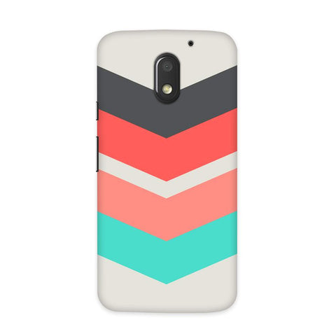 Classy Chevron Case for Moto E3 Power