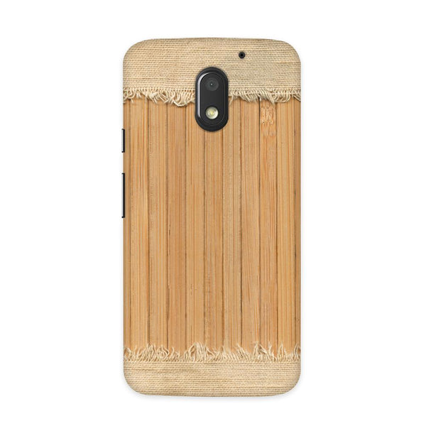 Woodcraft Textured Case for Moto E3 Power