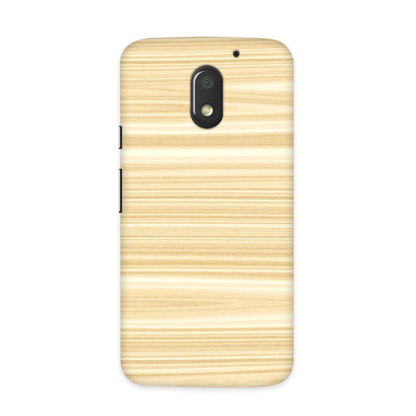 Wood Pattern Case for Moto E3 Power