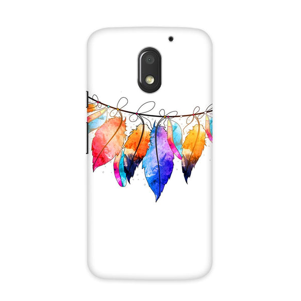 Feather Hues Case for Moto E3 Power