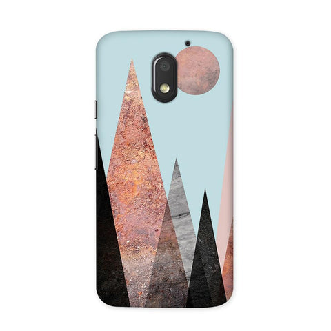 Sebesa Peaks Case for Moto E3 Power