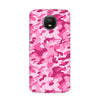 Pink Camouflage Case for Moto E4