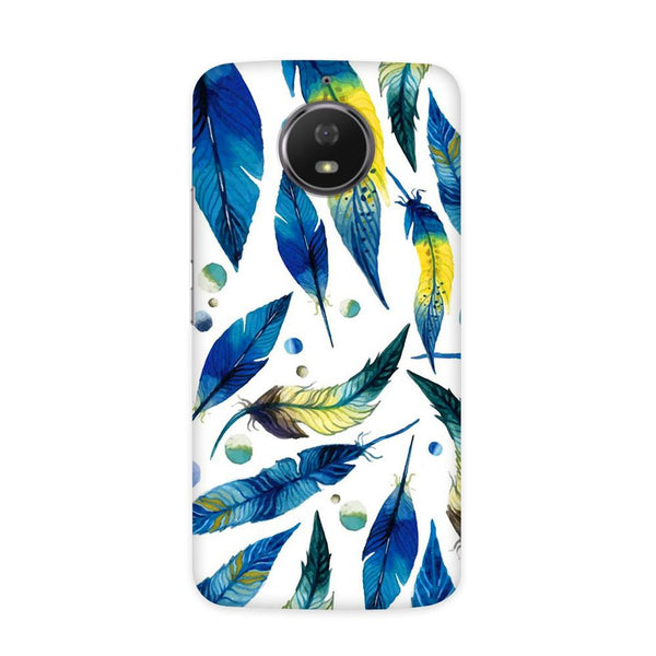 Feather Bluo Case for Moto E4
