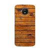 Wooden Vio Texture Case for Moto E4