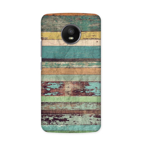 Oldwood Texture Case for Moto E4