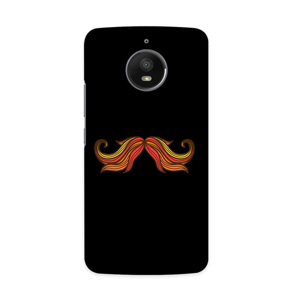 The Moustache Case for  Moto E4 Plus