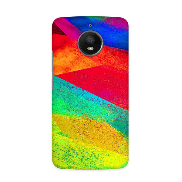 Color Strokes Case for  Moto E4 Plus