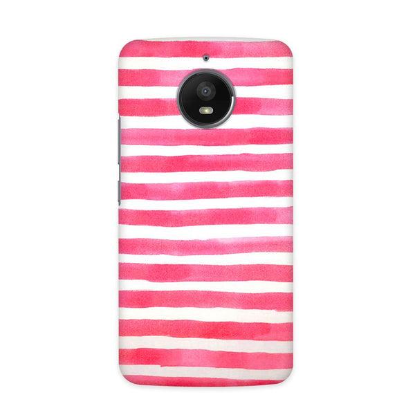 Watery Pink Case for  Moto E4 Plus
