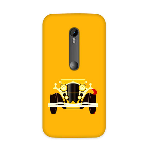Vintage Car Case for Moto G3