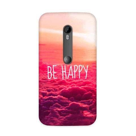 Be Happy Case for Moto G3
