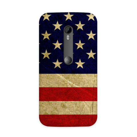 US Flag Case for Moto G3