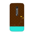 Retro Butterfly Case for Moto G3