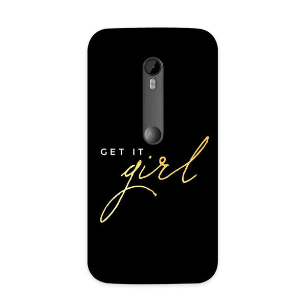 Get It Case for Moto G3