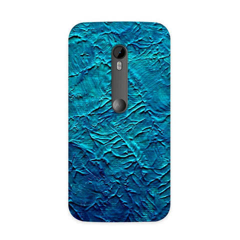 Painted in Blue Case for Moto G3