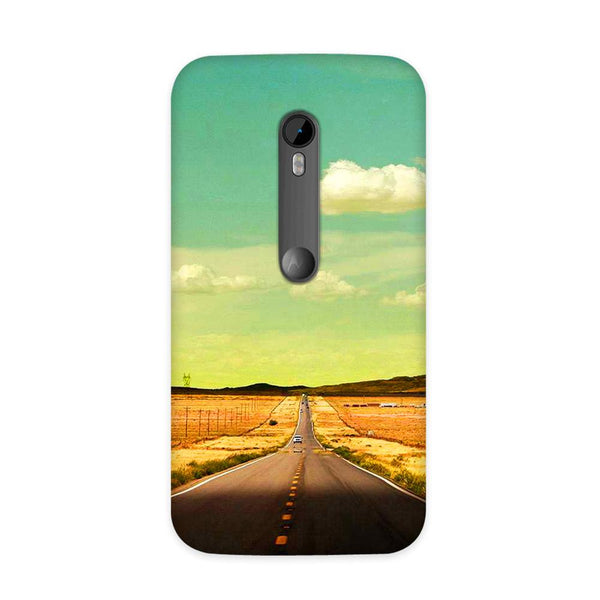 Lonely Road Case for Moto G3