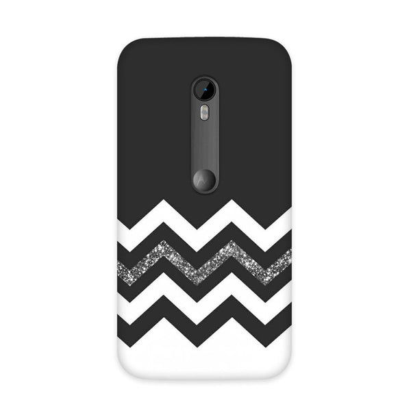 Monochrome Chevron Case for Moto G3