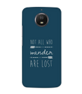 Not Lost Case for Moto G6S