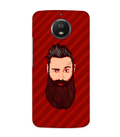Grow A Beard Case for Moto G6S