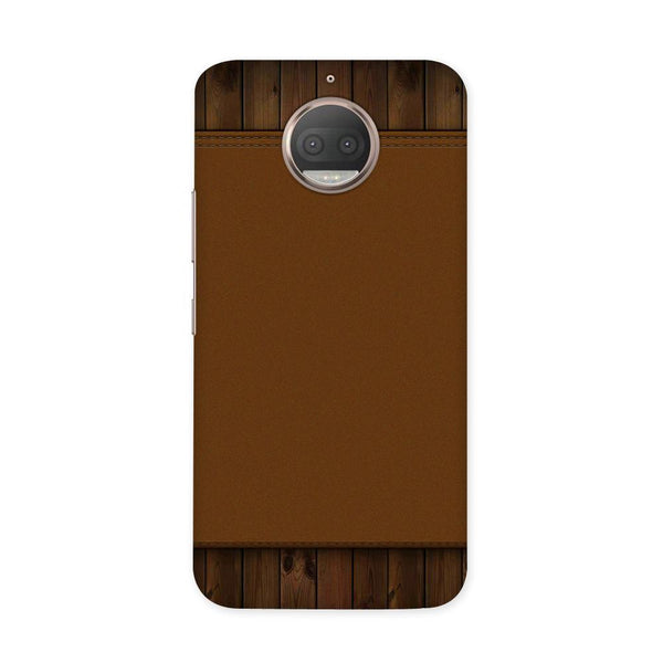 Brown Cosmo Case for Moto G5S Plus