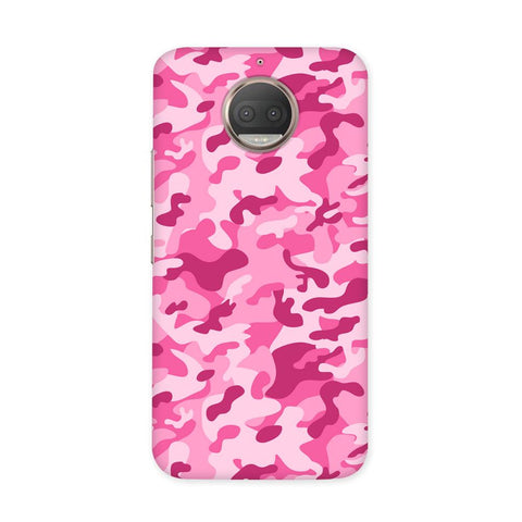 Pink Camouflage Case for Moto G5S Plus